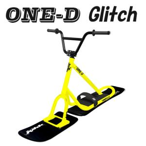 ONE-D Glitch ルミナスイエロー SNOWSCOOT ワンデーグリッチ 未組立キット品 組立説明書付スノースクート mshscw4