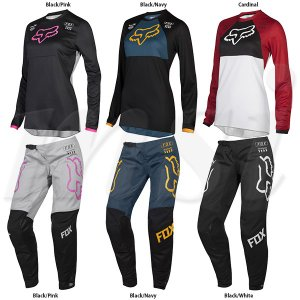 Fox Racing 2019 Kids Girls 180 MATA Jersey-Black//Pink-KM