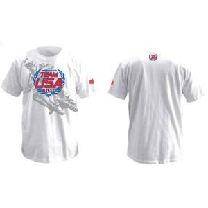 FOX MXoN マックスオン USA チーム 2010 Tシャツ 白|msi1