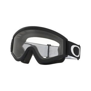 Oakley オークリー L Frame Lフレーム MX ゴーグル 眼鏡対応 マットブラック クリアレンズ 01-247|msi1
