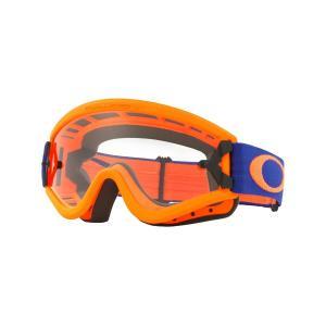 Oakley オークリー L Frame Lフレーム MX ゴーグル 眼鏡対応 オレンジブルー クリアレンズ OO7008-02|msi1