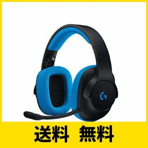 ゲーミングヘッドセット Logicool ロジクール G233 ブラック 軽量 2.1chステレオ高...