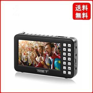 携帯テレビ ポータブルテレビ ラジオ FM ワンセグポケット アンテナ内蔵 4.3インチ USB給電対応 (ブラック)|msjnet