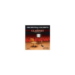 Orchestra Pro Excerpts For Clarinet | COMBS, LARRY  ( CD )|msjp