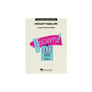 試聴可   Instant Warm-Ups   arr. マイケル・スウィーニー  ( ビッグバンド   楽譜 ) msjp