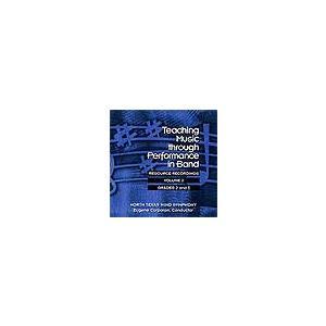 バンドの演奏を通じた音楽指導 Vol. 2:グレード2-3 | ノース・テキサス・ウインド・シンフォニー  (3枚組)  ( 吹奏楽 | CD )|msjp