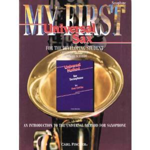 最初のユニバーサル:サクソフォン   edited by Daniel Schmidt ・ Paul DeVille (サクソフォン   メソッド・教則本) msjp