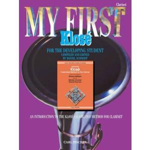 最初のクローゼ:クラリネット   edited by Daniel Schimidt (クラリネット   メソッド・教則本) msjp