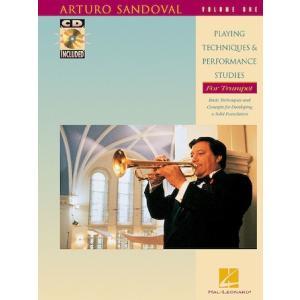 アルトゥーロ・サンドバル - Playing Techniques and Performance Studies for Trumpet, Volume 1  (トランペット   メソッド) msjp