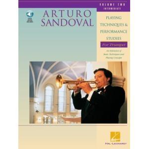 アルトゥーロ・サンドバル - Playing Techniques and Performance Studies for Trumpet, Volume 2 (中級)  (トランペット   メソッド) 1111111 msjp