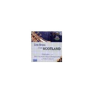 Live Brass from Scotland: Highlights of the 2003 Scottish Open Championships ( CD ) msjp