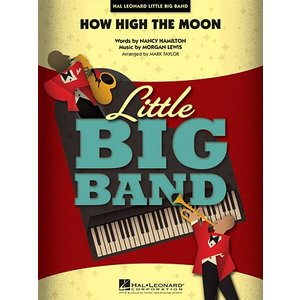 取寄 | 試聴可 | How High the Moon | Morgan Lewis ・ Nancy Hamilton / arr. Mark Taylor  ( ビッグバンド | 楽譜 )|msjp