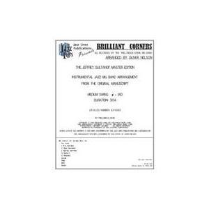 取寄 | 試聴可 | Brilliant Corners | Thelonious Monk / arr. Oliver Nelson  ( ビッグバンド | 楽譜 )|msjp