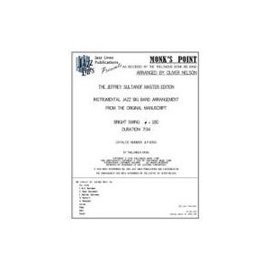 取寄 | 試聴可 | Monk's Point | Thelonious Monk / arr. Oliver Nelson  ( ビッグバンド | 楽譜 )|msjp