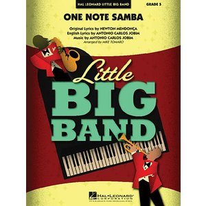 [取寄] [試聴可] One Note Samba | アントニオ・カルロス・ジョビン  ( ビッグバンド | 楽譜 )|msjp