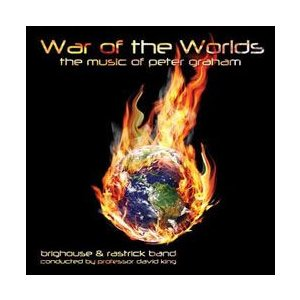 宇宙戦争:ピーター・グレアム ブラスバンド作品集 | ブリッグハウス&ラストリック・バンド  ( CD )|msjp