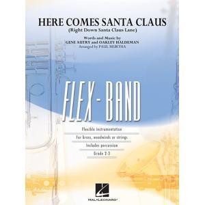 取寄 | 試聴可 | サンタクロースがやってくる (フレックス版) | arr. ポール・マーサ  ( 吹奏楽 | 楽譜 )|msjp