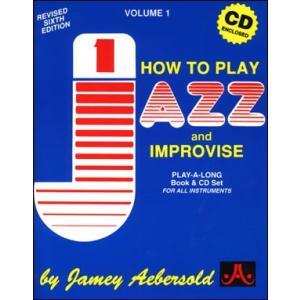 ジェイミー・プレイアロング Vol. 1:ジャズとアドリブの演奏法(日本語版)( | マイナスワン)|msjp