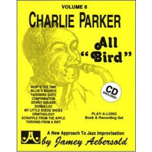 ジェイミー・プレイアロング Vol. 6:オール・バード〜チャーリー・パーカー曲集 (2枚組) ( | マイナスワン)|msjp