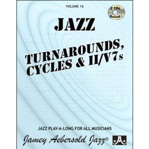 ジェイミー・プレイアロング Vol. 16:ターンアラウンド、循環、トゥー・ファイブ (4枚組) ( | マイナスワン)|msjp