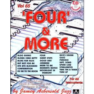 ジェイミー・プレイアロング Vol. 65:フォー&モア〜B3オルガンと一緒に (2枚組) ( | マイナスワン)|msjp