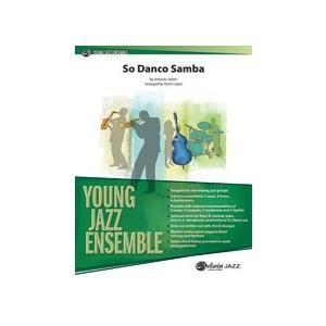 取寄   試聴可   So Danso Samba   Antonio Carlos Jobim / arr. Victor Lopez  ( ビッグバンド   楽譜 ) msjp