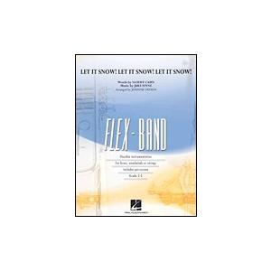 取寄 | 試聴可 | レット・イット・スノー!レット・イット・スノー!レット・イット・スノー!(フレックス版) | arr. ジョニー・ビンソン  ( 吹奏楽 | 楽譜 )|msjp