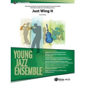 取寄 | 試聴可 | Just Wing It | Kris Berg  ( ビッグバンド | 楽譜 )|msjp