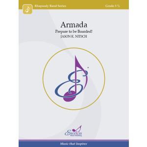 取寄 | Armada: Prepare to be Boarded! | ジェイソン・K・ニッチュ (吹奏楽 | フルスコア)|msjp