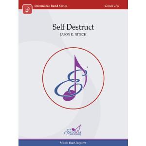 取寄   Self Destruct   ジェイソン・K・ニッチュ (吹奏楽   フルスコア) msjp