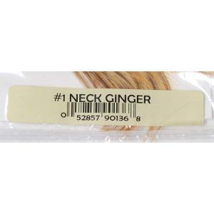 Ginger ジンジャー #3 ハックル コックネック