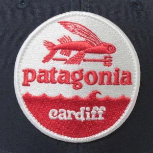 ... 海外限定 パタゴニア ハットパッチ トラッカーハット カーディフ 限定 紺 PATAGONIA HAT PATCH TRUCKER HAT  CARDIFF ... 3b6c7f6bbbd5