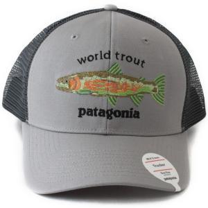 パタゴニア ワールド トラウト フィッシュステッチ トラッカー ハット PATAGONIA World Trout Trucker Hat DFTG  帽子 男女兼用 ... 63ae059d508
