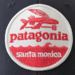 PATAGONIA HAT PATCH TRUCKER HAT SANTA MONICA UWTB キャップ ハットパッチ 海外限定 トラッカーハット サンタモニカ パタゴニア 帽子 CAP 限定