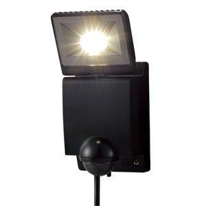 オプテックス LA-11LED(BL) ブラック LEDセンサライト ON/OFFタイプ 1灯タイプ 『LA11LEDBL』|msm