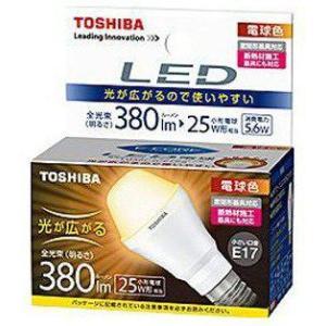 東芝 LDA6L-G-E17/S LED電球 電球色 中止代替品 LDA4L-G-E17/S/40W 『LDA6LGE17S』
