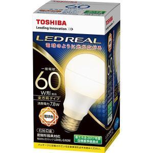 東芝 LDA8L-G/60W LED電球 一般形 電球色 60W相当 『LDA8LG60W』