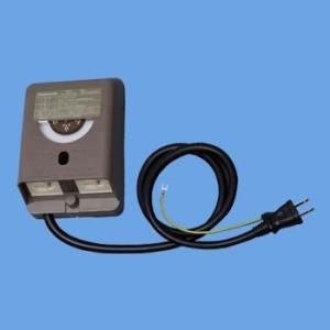 パナソニック WH5353AKP 電子EEスイッチ付フル接地防水コンセント タイマー連動コンセント3A 常時コンセント12A アースターミナル付・1.5mコード付 ブラウン msm
