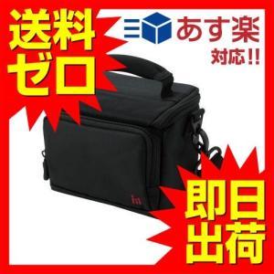 エレコム DVB-014BK ビデオカメラケース ブラック