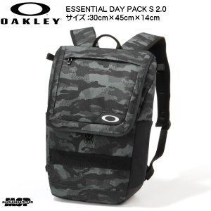 OAKLEY ESSENTIAL DAY PACK S 2.0  [ 921387JP ]  上蓋が...