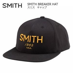 スミス キャップ SMITH BREAKER HAT BLACK [011305075]|msp