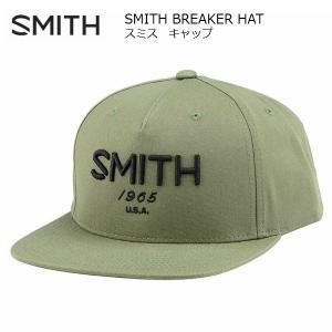 スミス キャップ SMITH BREAKER HAT OLIVE [011305077]|msp