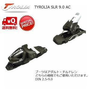 チロリア ビンディング TYROLIA SLR9.0 AC BLACK [114061]