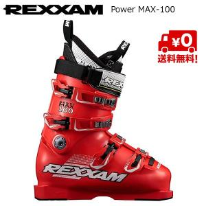 レクザム スキーブーツ REXXAM Power MAX-100 RED [18MAX100]|msp