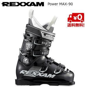 レクザム スキーブーツ REXXAM Power MAX-90 BLACK [18MAX90]|msp