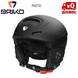 ブリコ スキーヘルメット BRIKO FAITO マットブラック 945 [20001m0]|msp
