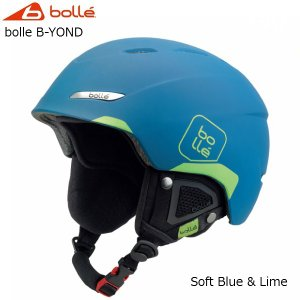 ボレー スキー ヘルメット bolle B-YOND Soft Blue & Lime [31451/31452]|msp