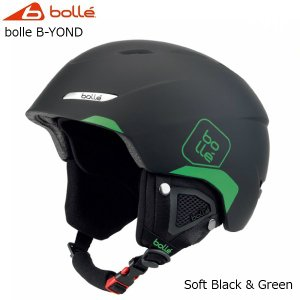 ボレー スキー ヘルメット bolle B-YOND Soft Black & Green [31457/31458]|msp