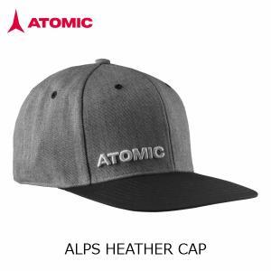 アトミック キャップ ATOMIC ALPS HEATHER CAP Grey AL5035110|msp