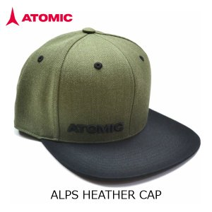 アトミック キャップ ATOMIC ALPS HEATHER CAP Stone Green AL5035120|msp